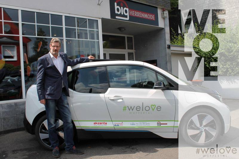 Vorstellung unseres Partners Big Herrenmode mit BMW i3