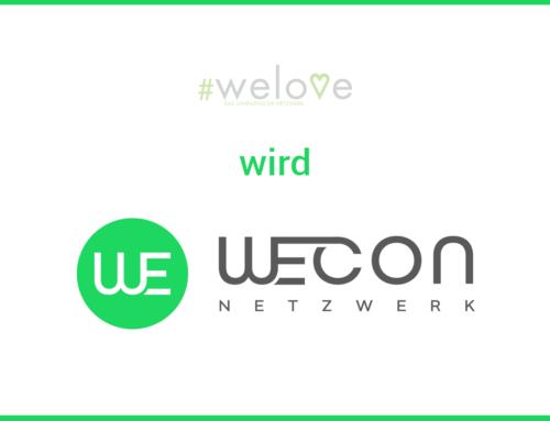 WELOVE Netzwerk wird WECON Netzwerk